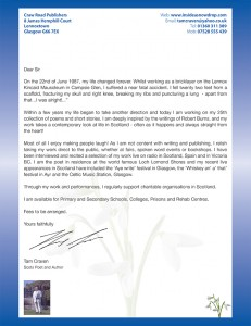 letter to schools