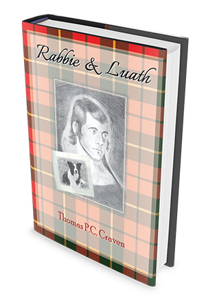 rabbie & luath book front cover by Tam Craven