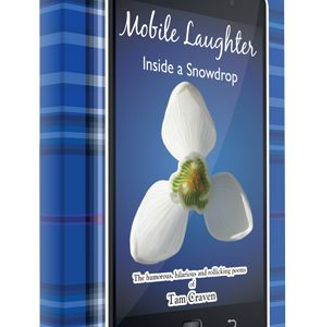 mobile laughter, book by tam craven, front cover