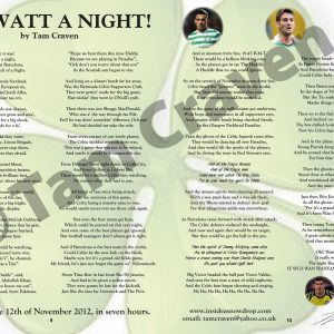 oh watt a night a1 poster by tam craven