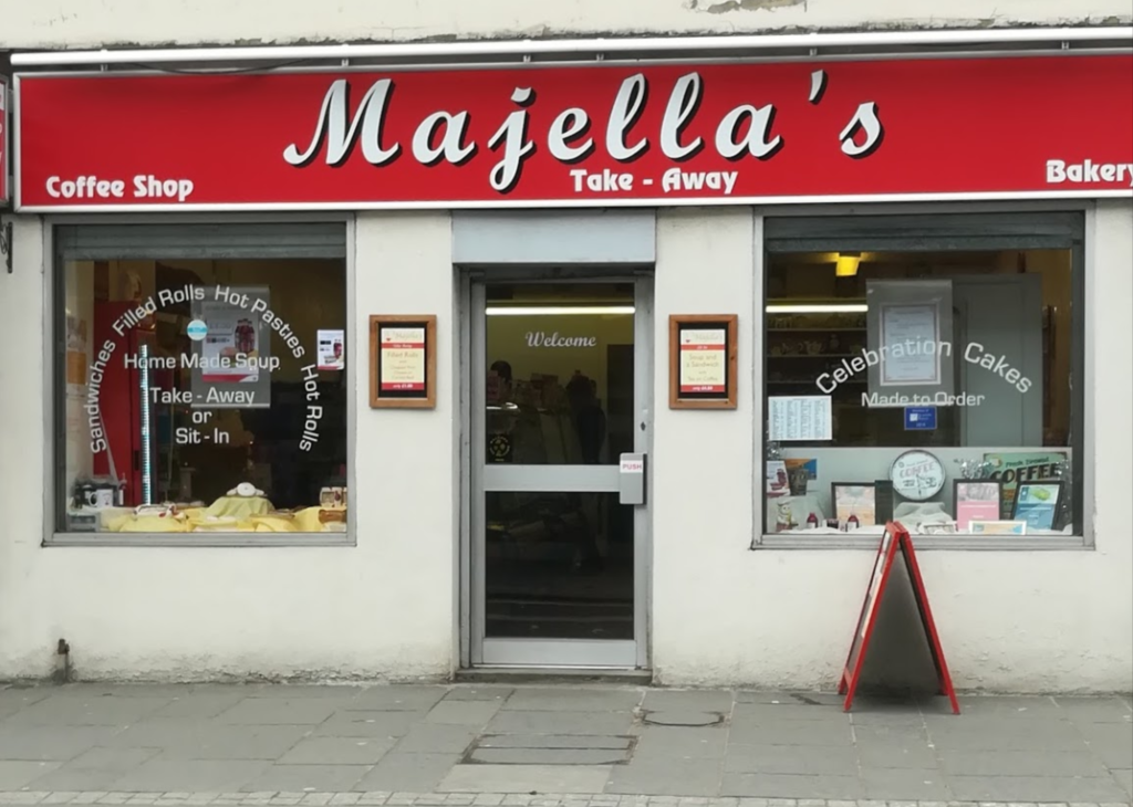 front view of Majella